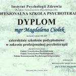 Dyplom IPZ PSP PTP
